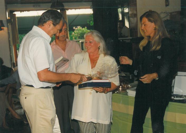 1995 - Forte dei Marmi, La Capannina - Grazia Gherardini