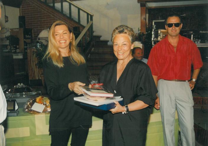 1995 - Forte dei Marmi, La Capannina - La concorrente Rosselli Nieri