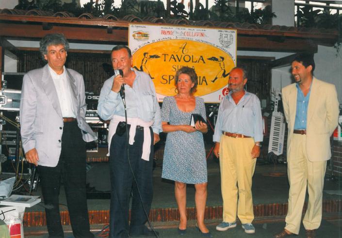 1995 - Forte dei Marmi, La Capannina - Sirio Maccioni