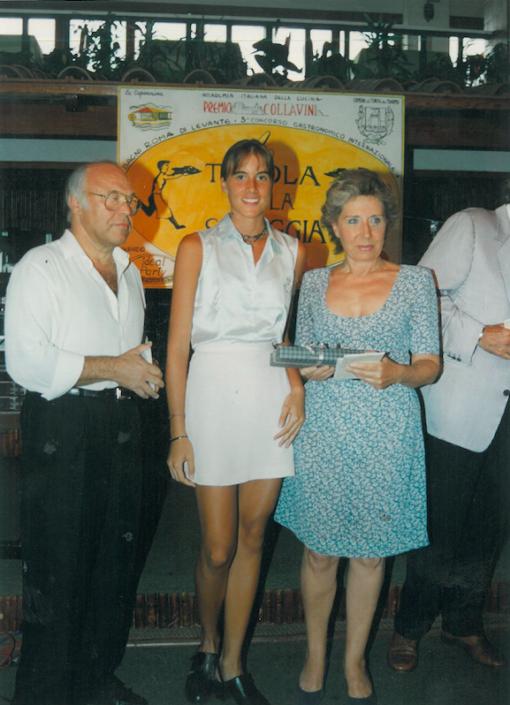 1995 - Forte dei Marmi, La Capannina - Stella Aneri con Francesca Duranti