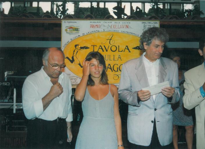 1995 - Forte dei Marmi, La Capannina - Valentina Paolini