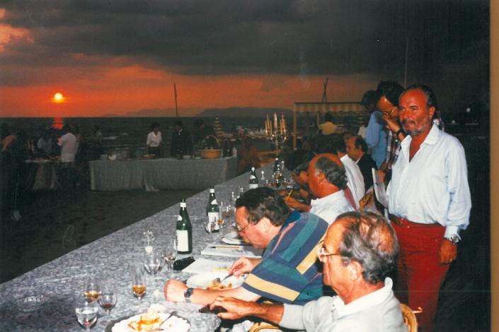 1995 - Forte dei Marmi, bagno Roma Levante