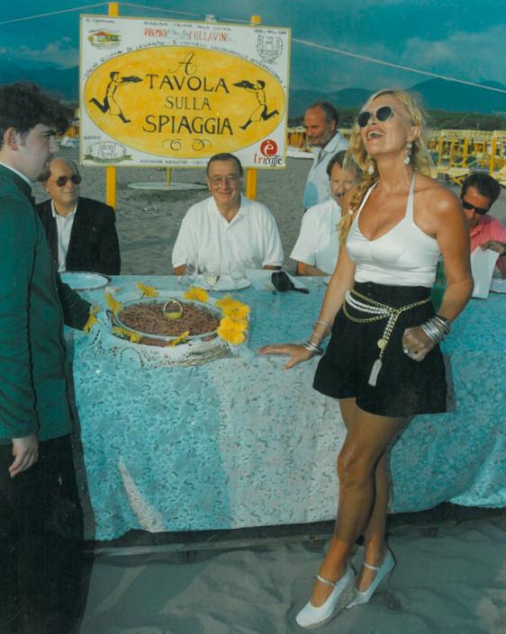 1995 - Forte dei Marmi, bagno Roma Levante - Cecilia Matteucci