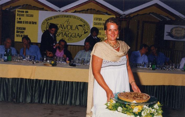 1995 - Forte dei Marmi, bagno Roma Levante - Cecilia Menchini Fabris