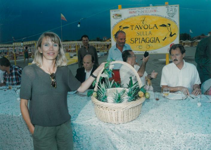 1995 - Forte dei Marmi, bagno Roma Levante - Evelyne Razzanelli