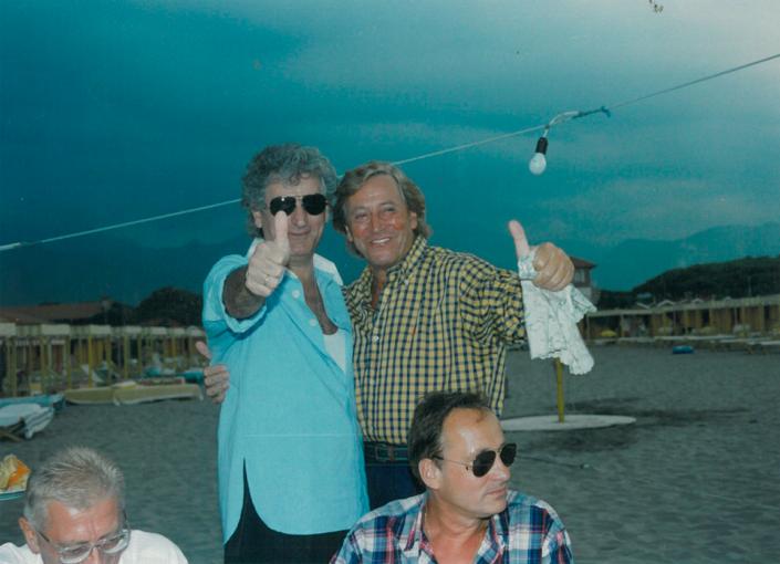 1995 - Forte dei Marmi, bagno Roma Levante - Gherardo Guidi e Guido Angeli