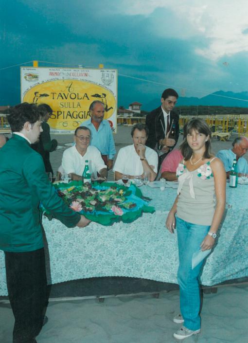 1995 - Forte dei Marmi, bagno Roma Levante - Valentina Paolini