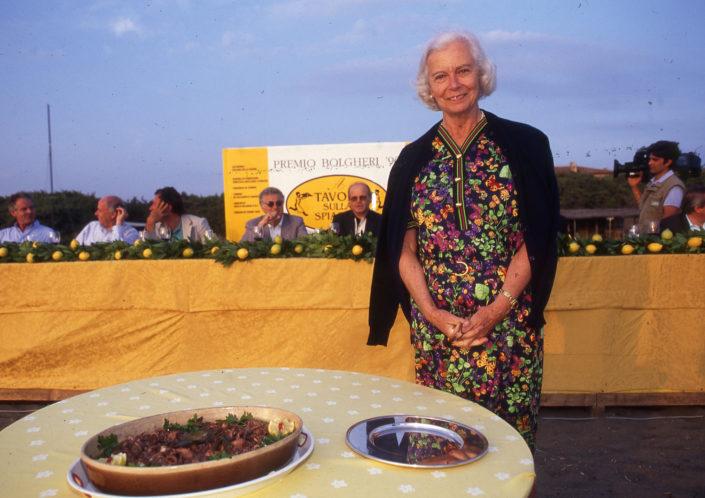 1996 - Marina di Castagneto Carducci, spiagga Le Sabine - Benedetta Antonelli Bossi Pucci
