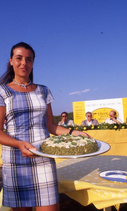 1996 - Marina di Castagneto Carducci, spiagga Le Sabine - Camilla Raggi de Marini