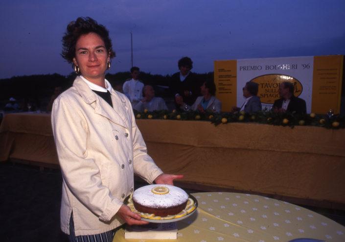 1996 - Marina di Castagneto Carducci, spiagga Le Sabine - Eleonora Attolico
