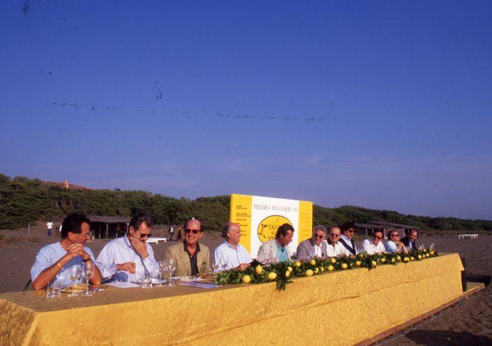 1996 - Marina di Castagneto Carducci, spiagga Le Sabine - La Giuria