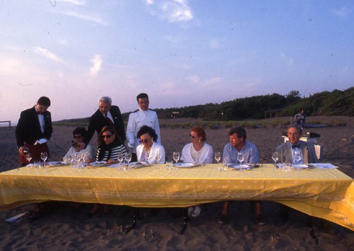 1996 - Marina di Castagneto Carducci, spiagga Le Sabine - La giuria stampa