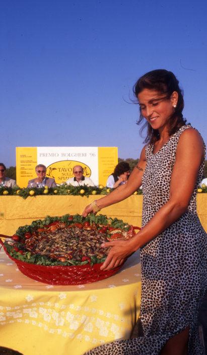 1996 - Marina di Castagneto Carducci, spiagga Le Sabine - Maria Gaetani