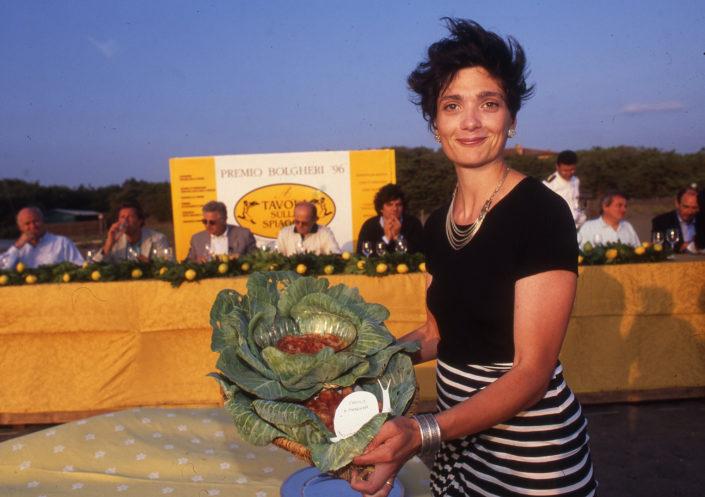 1996 - Marina di Castagneto Carducci, spiagga Le Sabine - Martina Bagnoli