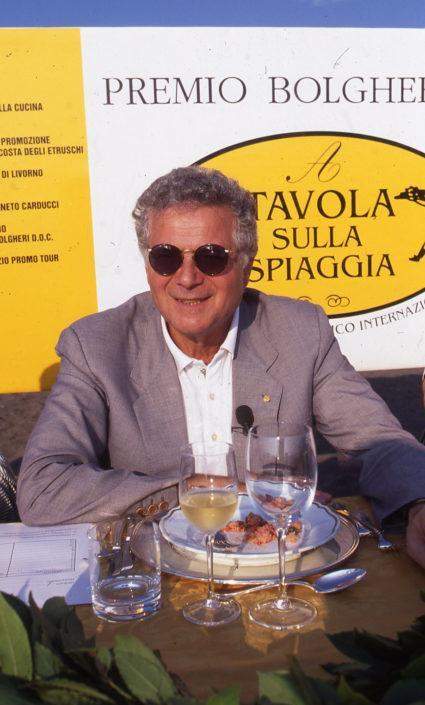 1996 - Marina di Castagneto Carducci, spiagga Le Sabine - Tony May