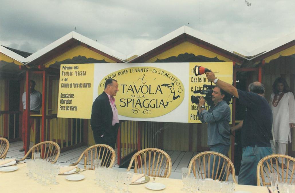 Anno 1997 clicca per scoprire a tavola sulla spiaggia - Bagno giovanni forte dei marmi ...