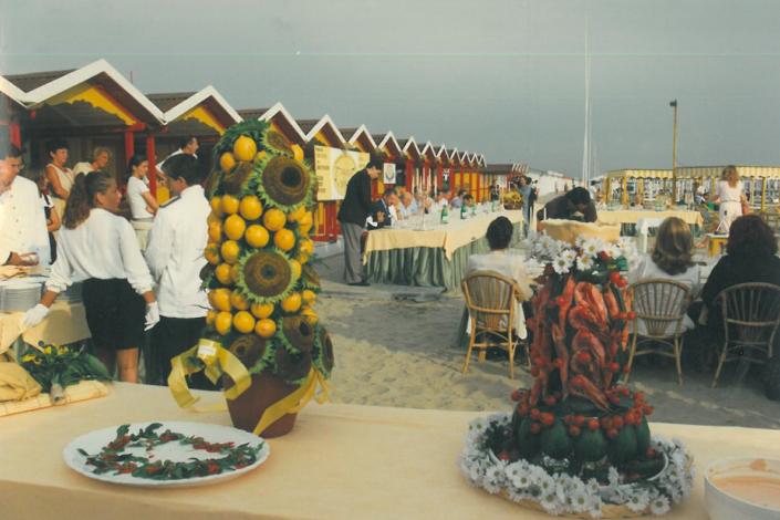 1997 - Forte dei Marmi, bagno Roma Levante