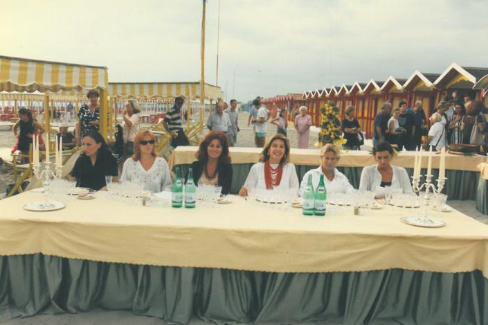1997 - Forte dei Marmi, bagno Roma Levante - Giuria stampa (2)