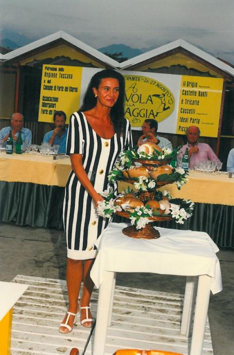 1997 - Forte dei Marmi, bagno Roma Levante - Gloria Martini