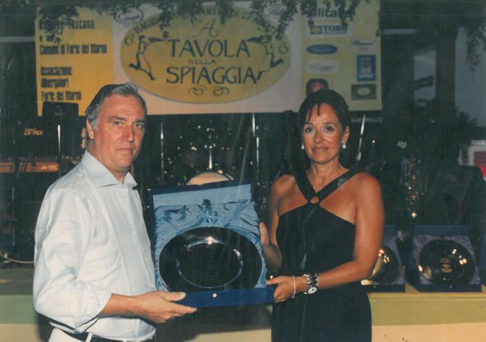1998 - Forte dei Marmi, La Capaninna - Carlo Burchi e Daniela Orellitti