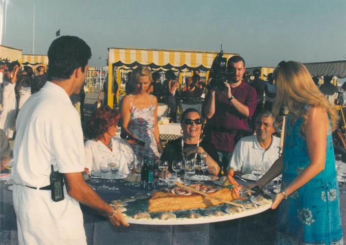 1998 - Forte dei Marmi, bagno Roma Levante