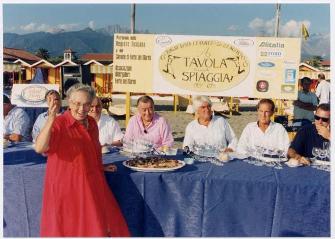 1998 - Forte dei Marmi, bagno Roma Levante - Anna Brosio