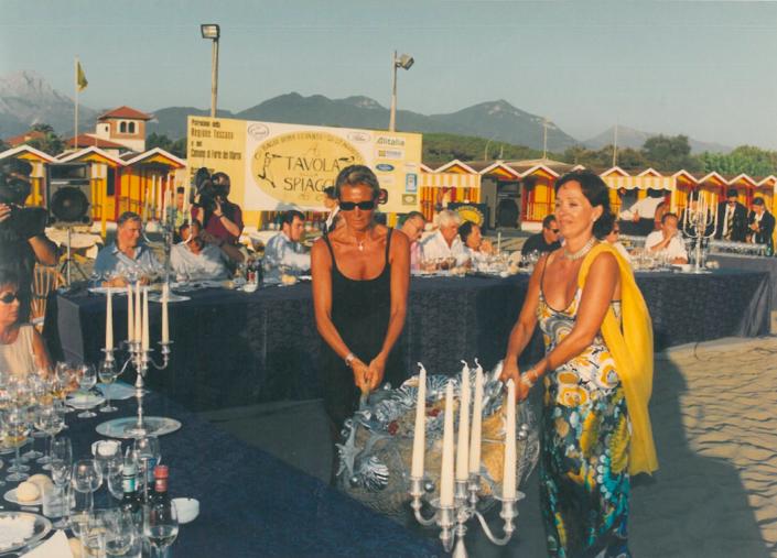 1998 - Forte dei Marmi, bagno Roma Levante - Daniela Orellitti