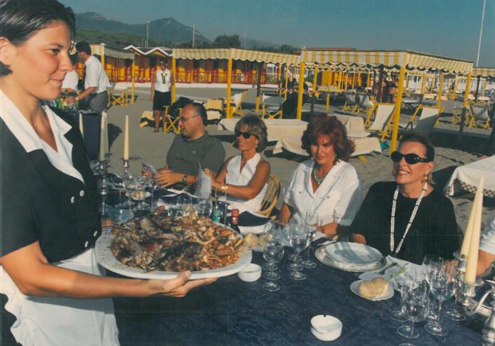 1998 - Forte dei Marmi, bagno Roma Levante - Giuria Stampa