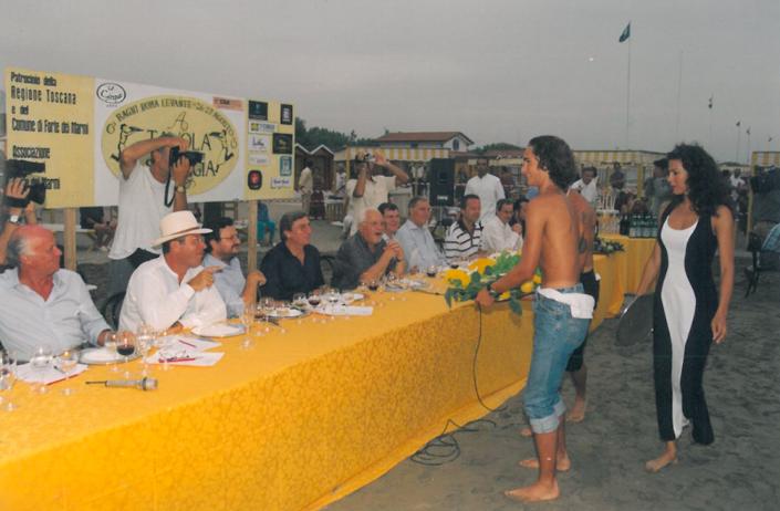 1999 - Forte dei Marmi, bagno Roma Levante