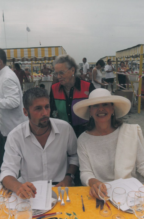 1999 - Forte dei Marmi, bagno Roma Levante - Alessandro Giannotti e Flavia Mercatali