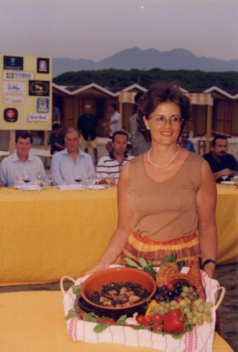 1999 - Forte dei Marmi, bagno Roma Levante - Cristina Acidini Lucinat