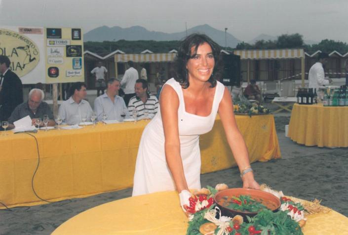 1999 - Forte dei Marmi, bagno Roma Levante -Rosaria Panatta