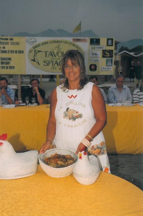1999 - Forte dei Marmi, bagno Roma Levante - Rossella Ricolfi