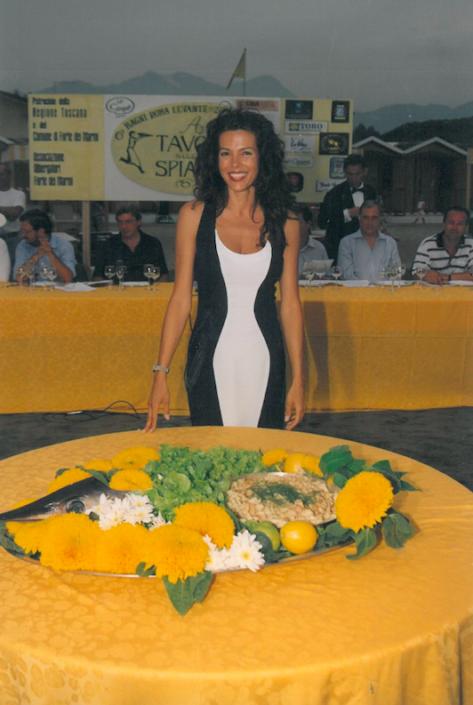 1999 - Forte dei Marmi, bagno Roma Levante - Sidney Haley Pirovano