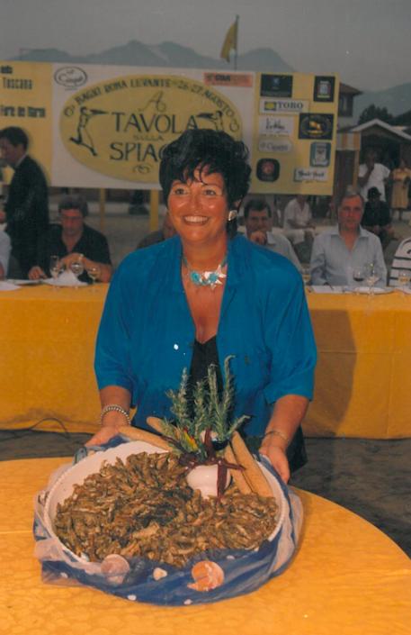 1999 - Forte dei Marmi, bagno Roma Levante - Titti Volpe