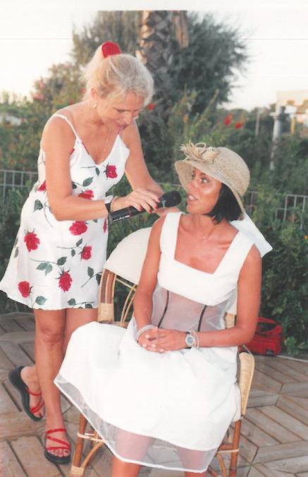 2000 – Forte dei Marmi, bagno Roma di Levante - Irene Thaon de Revel intervista Valentina Volpe
