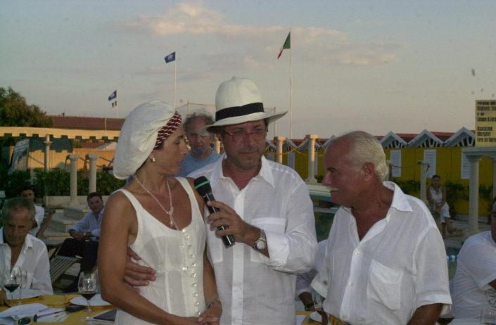 2001 - Forte dei Marmi, bagno Roma Levante - Sandro Vannucci e Daniela Soderi (4)
