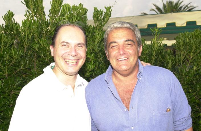 2002 - Gianluca Tenti e Antonello de Curtis nipote di Totò