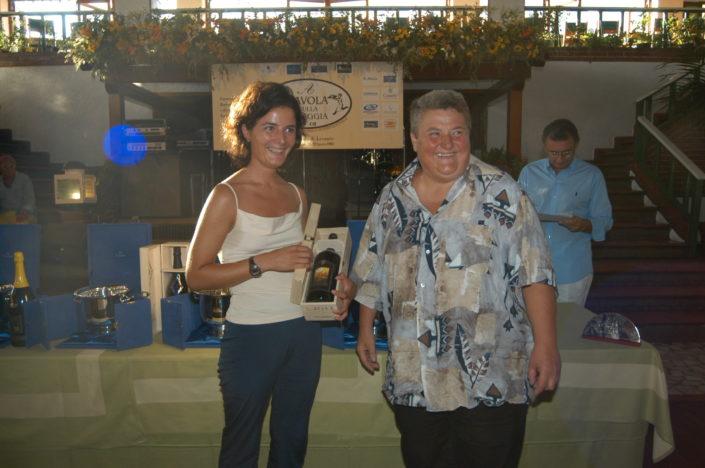 2003 - Forte dei Marmi, La Capannina (4) Giovanna Righi Parenti