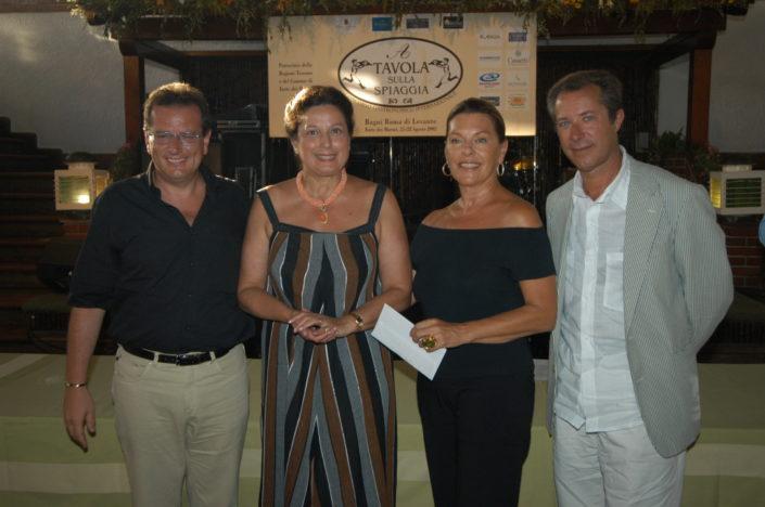 2003 - Forte dei Marmi, La Capannina (8) Rossella Annigoni