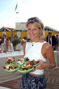 2003 - Forte dei Marmi, bagno Roma Levante -Chiara Lucifero d'Aprigliano