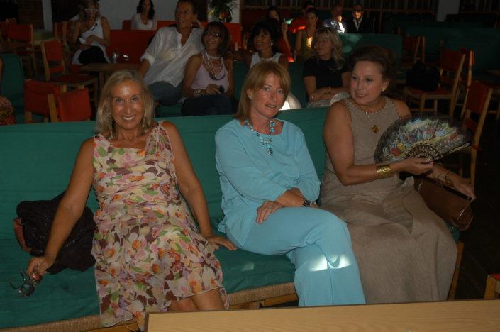 2004 - Forte dei Marmi, La Capannina - Carla Tolomeo, Elisabetta Rogai e Rossella Annigoni