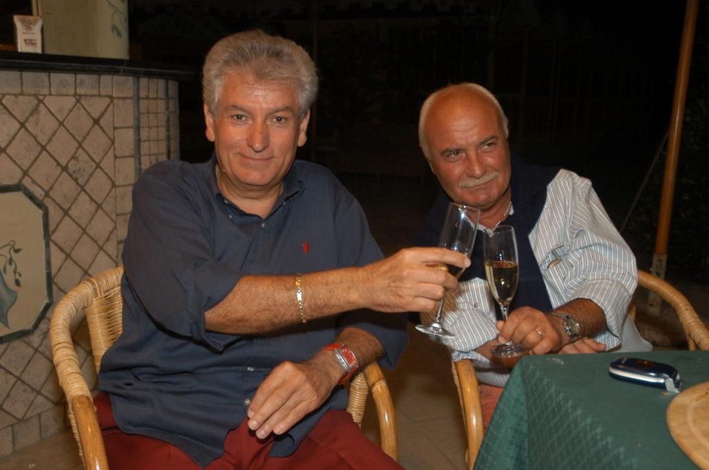 2004 - Forte dei Marmi, La Capannina - Gherardo Guidi e Gianni Mercatali