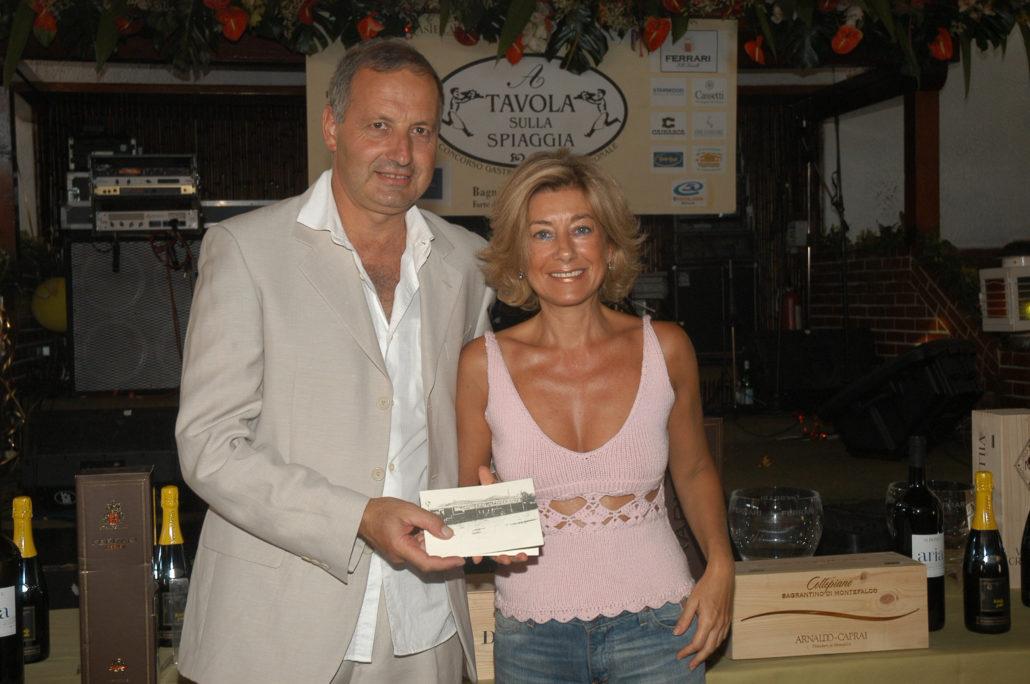2004 - Forte dei Marmi, La Capannina - Patrizia Gucci (2)