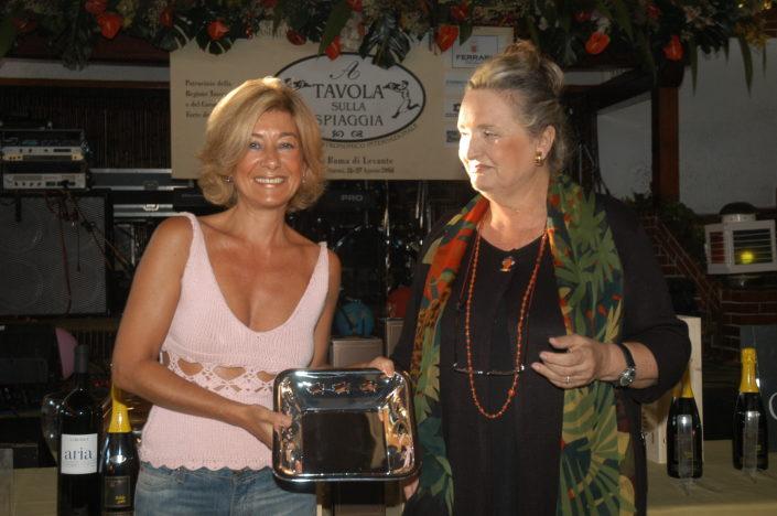 2004 - Forte dei Marmi, La Capannina - Patrizia Gucci