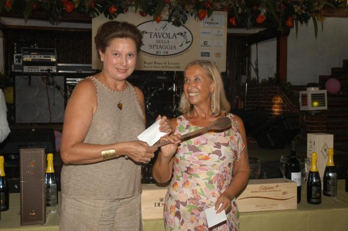 2004 - Forte dei Marmi, La Capannina - Rossella Annigoni e Carla Tolomeo