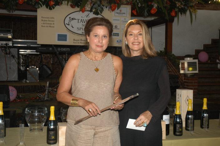 2004 - Forte dei Marmi, La Capannina - Rossella Annigoni e Flavia Mercatali