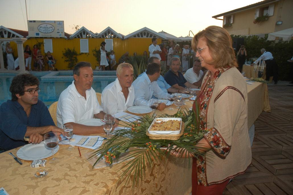 2004 - Forte dei Marmi, bagno Roma Levante - Milena Bertuzzi Rustioni