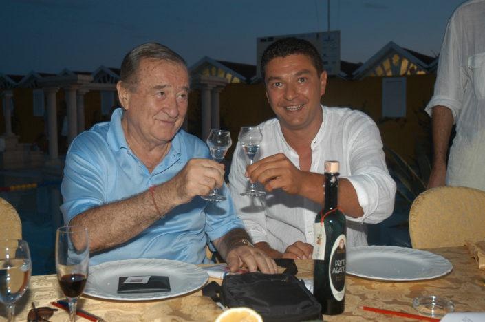 2004 - Forte dei Marmi, bagno Roma Levante - Sirio Maccioni, Lino Strambi