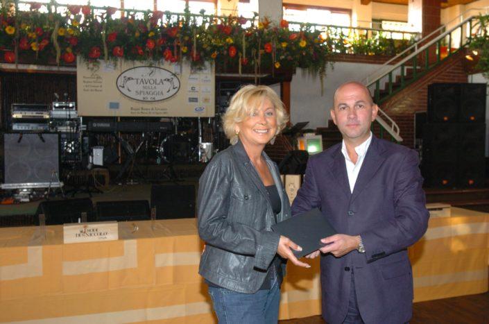 2005 - Forte dei Marmi – La Capannina Paola Locatelli e Maurizio Tripani